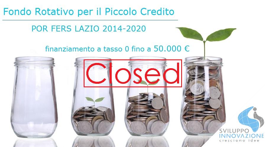 Chiusura temporanea FRPC Lazio