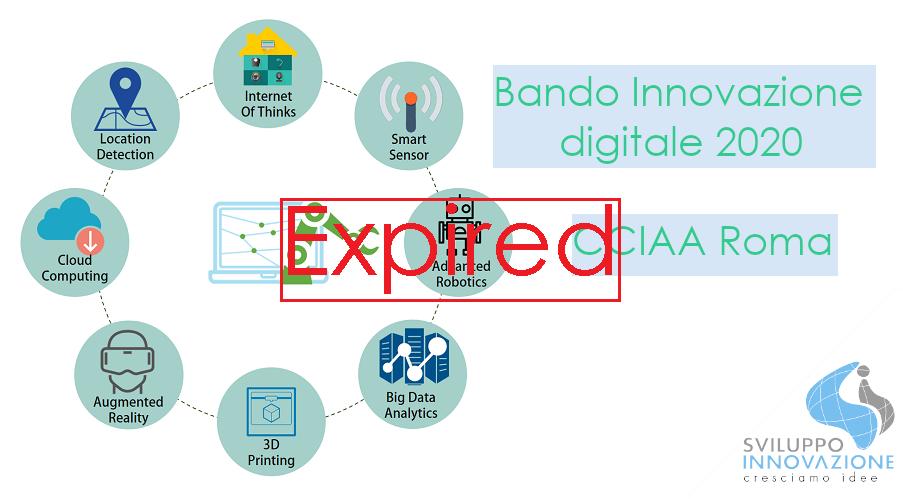 Bando Innovazione digitale CCIAA Roma